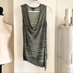 3for$45 NWOT INC Loose Sleeveless Top. Size L